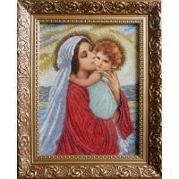 """Рисунок на канве для вышивания бисером """"Мадонна и дитя (малая)"""""""