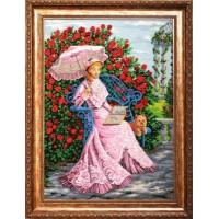 """Набор для вышивания бисером """"В розовом саду"""""""