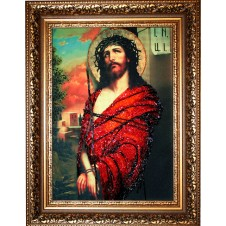 """Набор для вышивания бисером """"Иисус в терновом венке"""" (Икона)"""