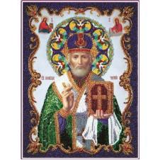 """Набор для вышивания бисером """"Св. Николай чудотворец"""" (Икона)"""