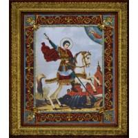 """Набор для вышивания бисером """"Святой Великомученик Георгий Победоносец"""""""