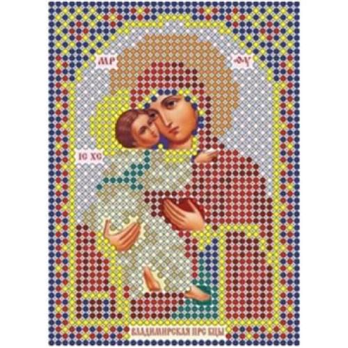 Рисунок иконы для вышивания бисером