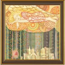 """Набор для вышивания бисером """"Цветные сны"""""""
