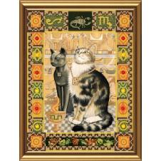 """Набор для вышивания бисером """"Кот из созвездия Скорпион"""""""