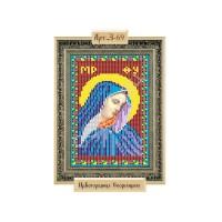 """Схема для вышивки бисером """"Пресвятая Богородица Скорбящая"""""""