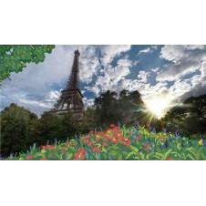 """Рисунок на ткани для вышивания бисером """"Париж"""""""