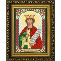 """Рисунок-схема для вышивания бисером """"Святая Мученица царица Александра (Олеся)"""""""