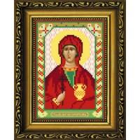 """Рисунок-схема для вышивания бисером """"Святая Великомученица Анастасия Узорешительница"""""""