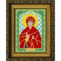 """Рисунок-схема для вышивания бисером """"Святая Пророчица Анна"""""""