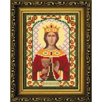 """Рисунок-схема для вышивания бисером """"Святая Великомученица Варвара"""""""