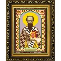 """Рисунок-схема для вышивания бисером """"Святитель Василий Великий"""""""