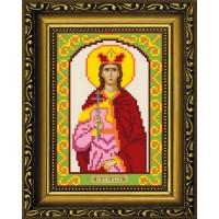 """Рисунок-схема для вышивания бисером """"Святая Великомученица Ирина"""""""