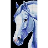 """Авторская схема для вышивания бисером """"Лошадь"""""""
