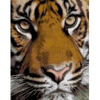 """Авторский набор для вышивания бисером """"Тигр"""""""