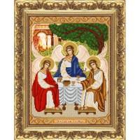 """Рисунок на ткани для вышивания бисером """"Святая Троица"""""""