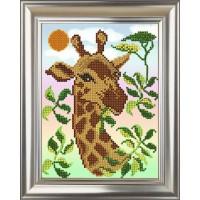 """Рисунок на ткани для вышивания бисером """"Африка"""""""