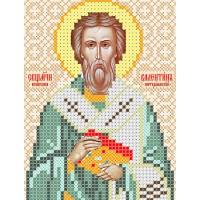 """Рисунок на ткани для вышивания бисером """"Священомученик Валентин, епископ интерамнский"""""""