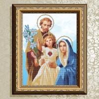 Авторская канва для вышивки бисером (© ArtSolo)  Святое семейство