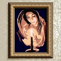 Авторская канва для вышивки бисером (© ArtSolo)  Молитва.