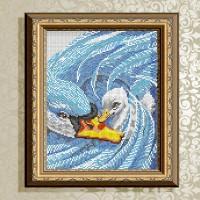 Авторская канва для вышивки бисером (© ArtSolo)  «Мамина нежность»