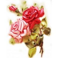 "Вышивка лентами ""Розы"""